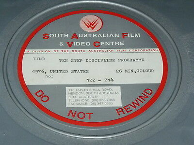Ten Step Discipline Programme 16mm short film 1976 William Glasser