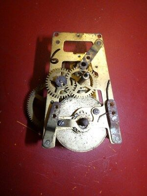 Old Clock Movement For A Wall Clock  Offer 6