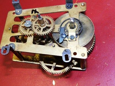 Old Clock Movement For A Wall Clock  Offer 7
