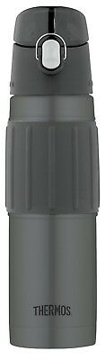 18 Ouce Stainless Steel Insulated Hydration Bottle Charcoal Color Vacuum Thermos