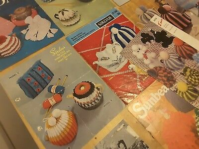 Vintage Knitting Patterns - Tea Cosies Bundle - 50s 60s & 70s - 22 in all