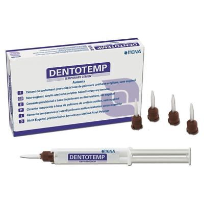 Temporary Luting Cement for Implants & Crown Dentotemp (2x5ml) Kit ITENA Dental