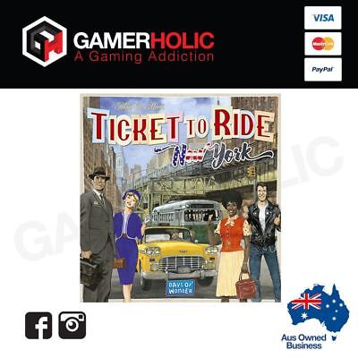 Ticket To Ride New York Board Game Brand New
