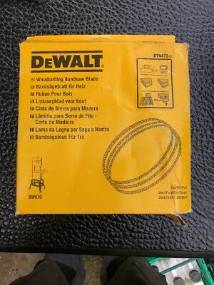Genuine Dewalt dt8472-QZ BANDSAW blade wood rip 150mm fits dw876 ebs3601