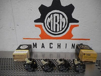 Allen Bradley 1495-N12 Ser A Auxiliary Contact Block N.O.N.C. Size 0-2 New 4Lot