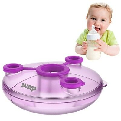 Milk Powder Formula Dispenser Baby Food Container Infant Feeding Storage Box Pot