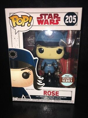 New In The Box Star Wars Funko Pop Rose Specialty Series #205! L@@k!