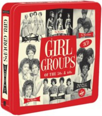 Various Artists-Girls Groups of the 50s & 60s  CD (Tin Case) NEW