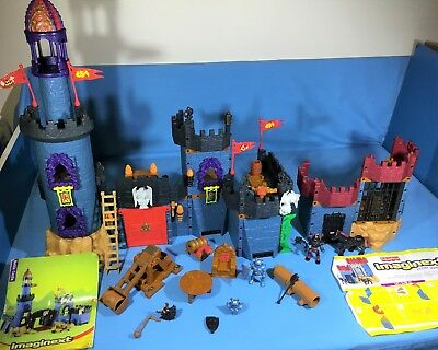 Fisher Price Imaginext - Battle Castle + Enemy Dungeon (with instructions)