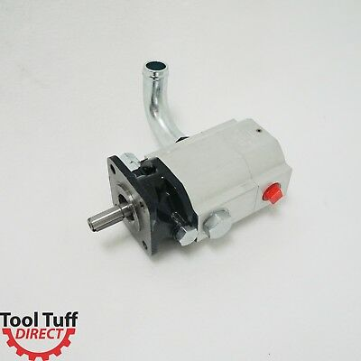 19 GPM Hydraulic Log Splitter 2 Stage Gear Pump, Faster replacement for 16 gpm