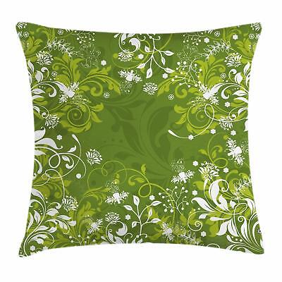 Green Throw Pillow Cases Cushion Covers Ambesonne Accent Decor 8 Sizes Available
