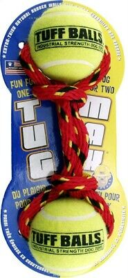 Petsport USA 70001 Tuff Balls™ Tug Max® Dog Toy Assorted Colors