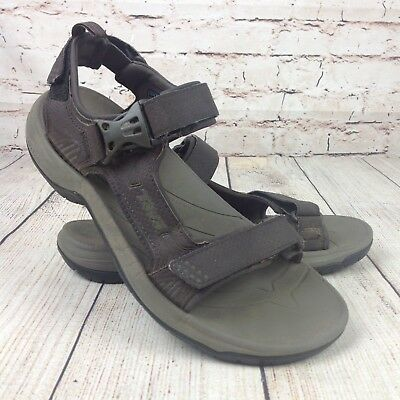 c673aac62933a Teva Holliway Men s Size 8 Sandals 1006912 Brown Strappy Outdoors Sport  Shoes