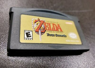 Legend of Zelda: A Link to the Past / Four Swords Nintendo Game Boy Advance gba