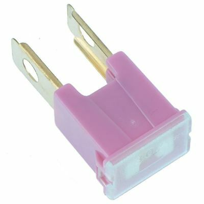 2 x 30A Pink Male PAL Fuse Japanese Car