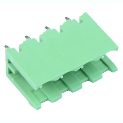 5 x 4-Way Plug-In PCB Vertical Open Ends Header 5.08mm