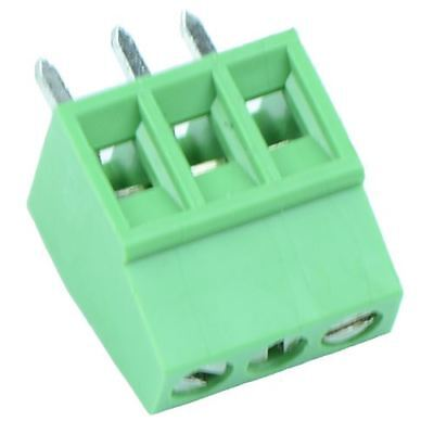 5 x 3-Way Terminal Block 2.54mm Pitch 6A