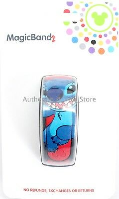 NEW Disney Parks STITCH MagicBand 2 Link It Later RED Magic Band