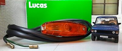 Range Rover Early Classic Lucas OEM L734 Wing Repeater Indicator Light 589143