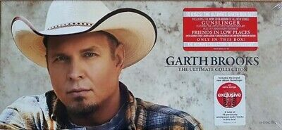 Garth Brooks Ultimate Collection Gift Box 10 Disk Set Exclusive