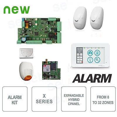 KIT 587 - Kit Antivol AMC X824 KIT587 Alarme Complet  - KIT 587
