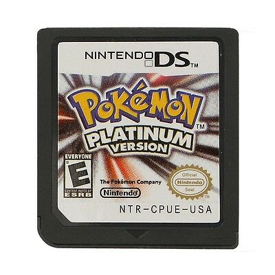 New 3DS NDS DSI Pokemon Platinum Version Game Card For Nintendo