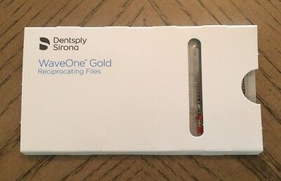 GENUINE NEW Dentsply Wave One Gold Endodontic Reciproc Files, PRIMARY, 25mm