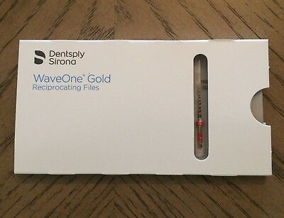 GENUINE NEW Dentsply Wave One Gold Endodontic Reciproc Files, PRIMARY, 21mm
