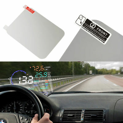 Car Windshield Reflective HUD Clear Film For Head Up Display Projector 120*90mm