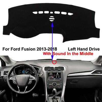 Car Dashboard Mat Dash Cover Anti-Sun for Ford Fusion 2013- 2017 2018 With Sound