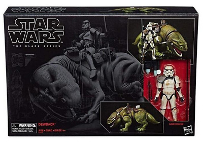 Star Wars The Black Series 6-Inch Dewback and Sandtrooper Action Figure #04