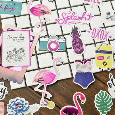 20pcs flamingo cardstock die cuts for scrapbooking happy planner/card making  X