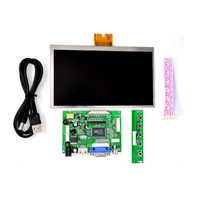 For Raspberry Pi 7 inch HDMI HD LCD Screen 1024 600 Display Module Kit G7F3