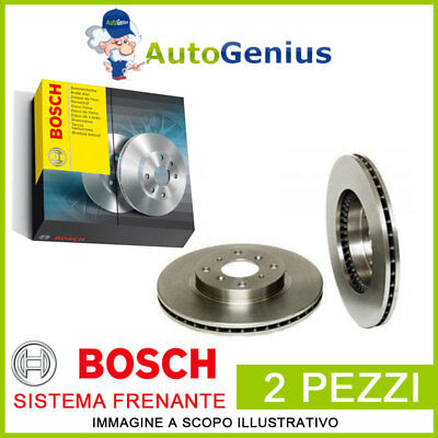 Coppia Dischi Freno Anteriore Smart City-Coupe (450) 0.8 Cdi 99>04 Bosch 78479