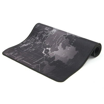 1Pc Non-Slip Gaming Old World Map Large Mouse Keyboard Pad Mat for PC Laptop