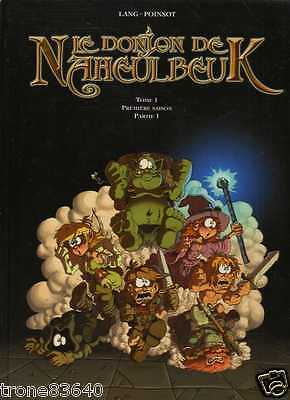 LANG-POINSOT--LE DONJON DE NAHEULBEUK tome 1 part 1--REEDITION CLAIR DE LUNE
