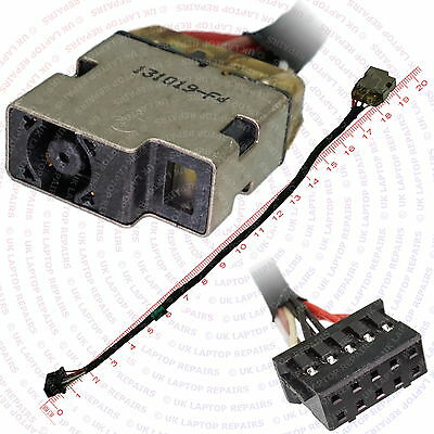 HP ENVY 15 POWER DC JACK SOCKET CONNECTOR WITH CABLE E109