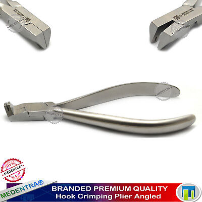 Orthodontic Dental Crimpable Hook Pliers Attaching Crimping Hooks to Archwire X1