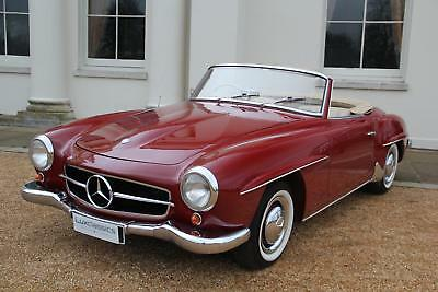 """Mercedes-Benz 190 SL RIGHT HAND DRIVE """"SOLD"""""""
