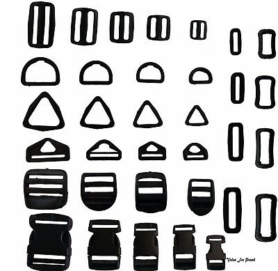 Assorted Buckles Various Sizes Many Styles
