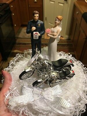 A LOVE CITATION Police Officer and Bride Funny Policeman Wedding ...