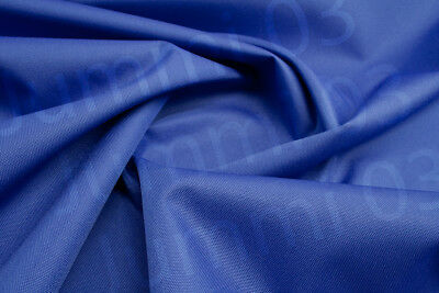 Seconds Waterproof Fabric 600 denier boat seat cover material Royal Blue 7ozR