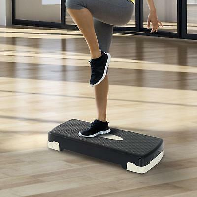 Adjustable Aerobic Stepper Exercise Training Stepper Board Yoga/Gym/Step Up