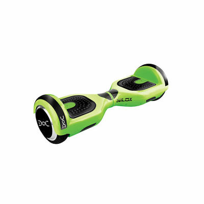 "Hoverboard Doc Nilox 6,5"" Verde Green 10 Kmh 4300 Mah Luci Led Elettrico"