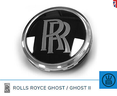 ROLLS ROYCE GHOST alloy wheel center cap replacement self leveling RR GENUINE