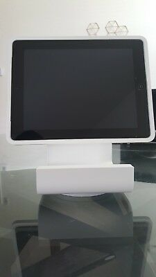 Square Stand for iPad 2 - Perfect conditions - Includes cables and box