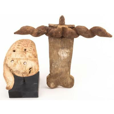 Egypt. Pair of Ancient Wooden Objects Lot 520