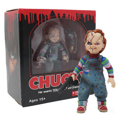 Child's Play Bride of Chucky 1/10 Scale Horror Doll Chucky PVC Action Figure Toy