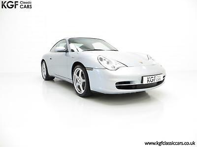 An Exceptional Porsche 996 911 Carrera 2 Coupe with Only 21,675 Miles