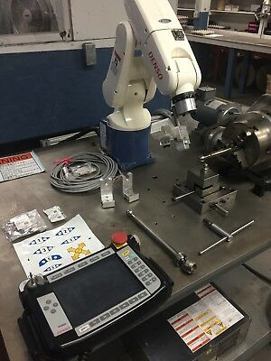 Denso Robot VP-6242M ,RC7M 6 axis Controller,Teach Pendant, all cables